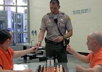 Inmates Playing Chess