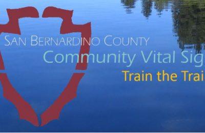Community vital signs train the trainer