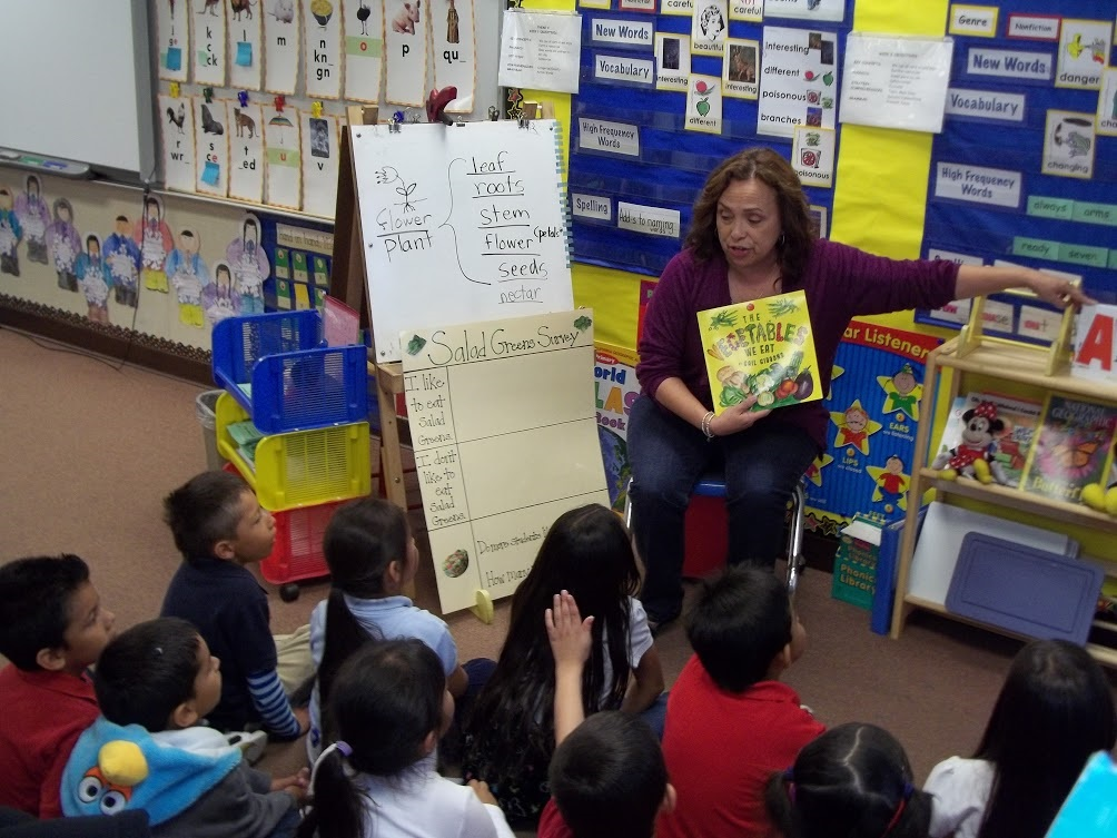 picture book reading to children
